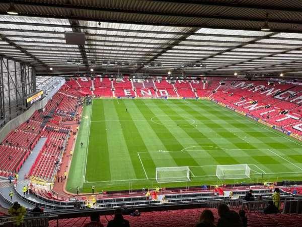 Old Trafford, secção: E331, fila: 30, lugar: 157
