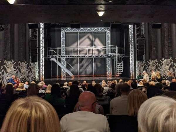 Trafalgar Theatre, secção: Stalls, fila: N, lugar: 15