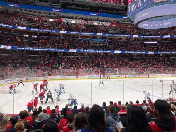 Capital One Arena, secção: 120, fila: L, lugar: 13