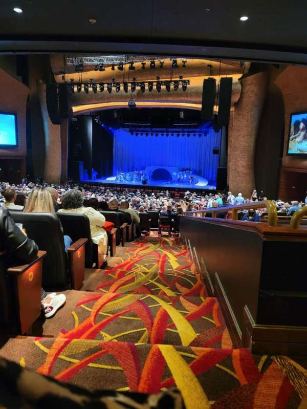 Fox Theater at Foxwoods, secção: PRTCTR, fila: KK, lugar: 138