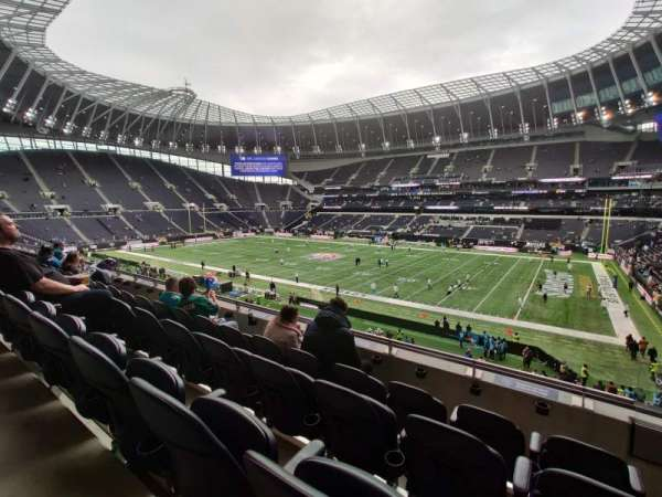 Tottenham Hotspur Stadium, secção: Suite 314, fila: 4, lugar: 538