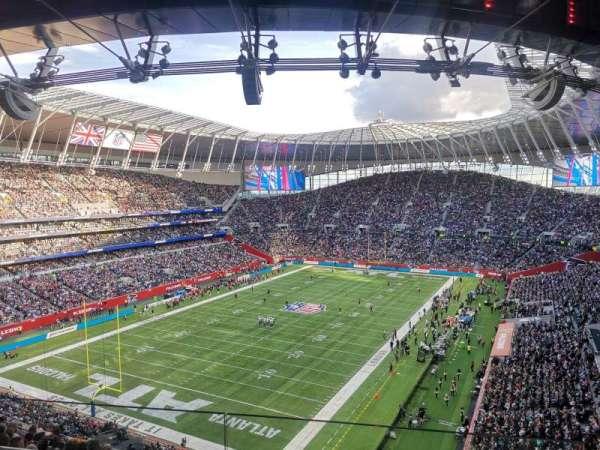 Tottenham Hotspur Stadium, secção: 512, fila: 12, lugar: 397