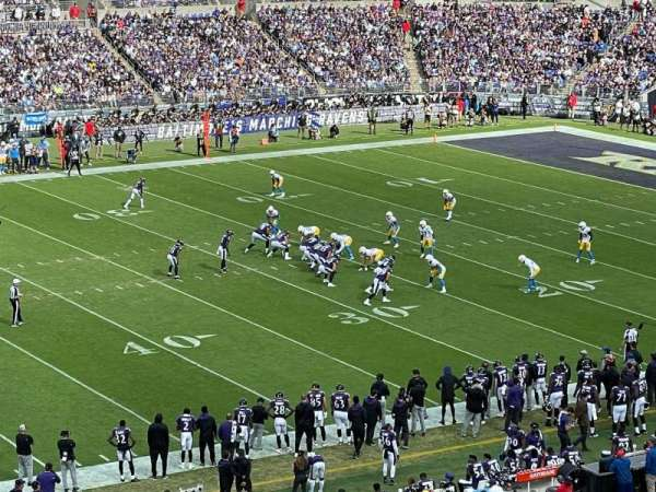 M&T Bank Stadium, secção: 228, fila: 8, lugar: 14