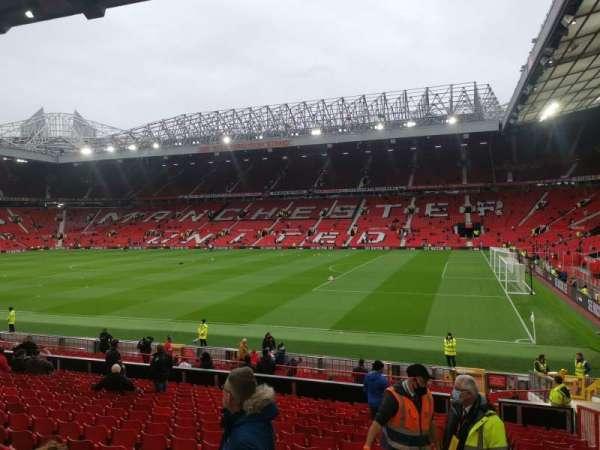 Old Trafford, secção: STH229, fila: 18, lugar: 21