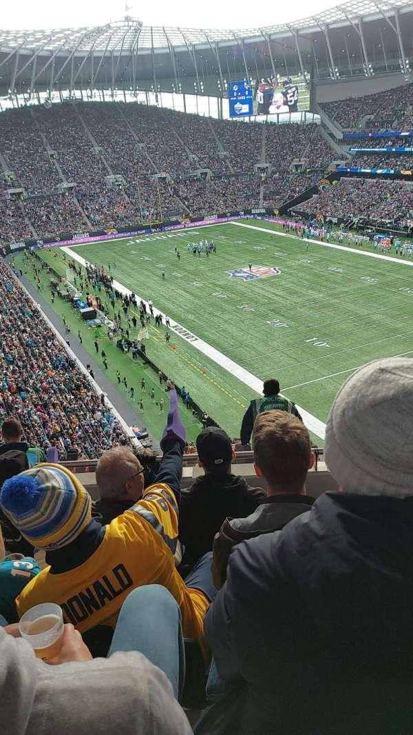Tottenham Hotspur Stadium, secção: 518, fila: 10, lugar: 616