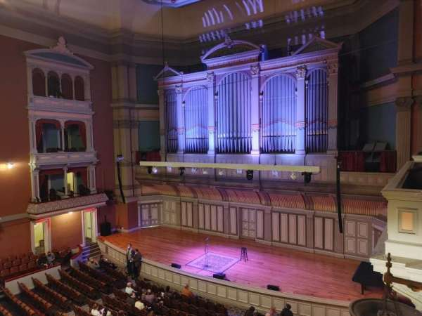 Troy Savings Bank Music Hall, secção: Box 8, fila: 1, lugar: 2