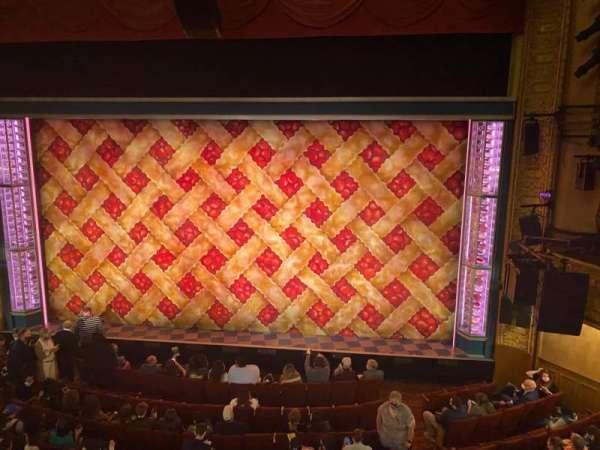 Ethel Barrymore Theatre, secção: Front Mezzanine C, fila: A, lugar: 112
