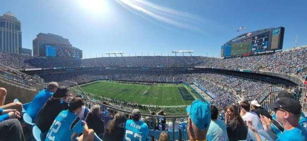 Bank of America Stadium, secção: 512, fila: 2, lugar: 12