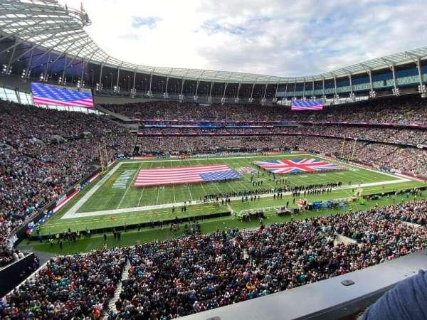Tottenham Hotspur Stadium, secção: 529, fila: 1, lugar: 903