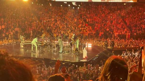 Madison Square Garden, secção: 116, fila: 11, lugar: 16