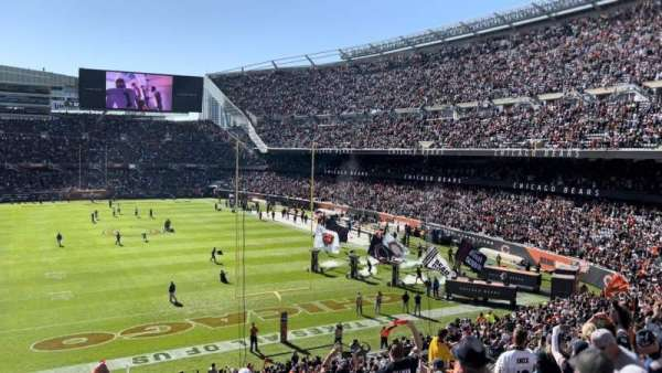 Soldier Field, secção: 253, fila: 12, lugar: 6