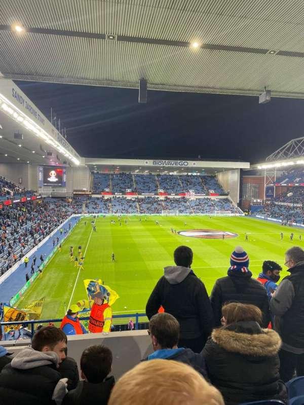 Ibrox Stadium, secção: BR5, fila: K, lugar: 147
