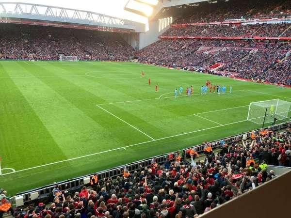 Anfield, secção: 227, fila: 1, lugar: 182