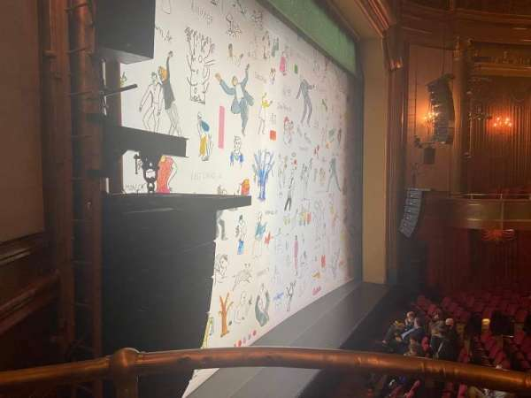 St. James Theatre, secção: Box B, fila: B, lugar: 1