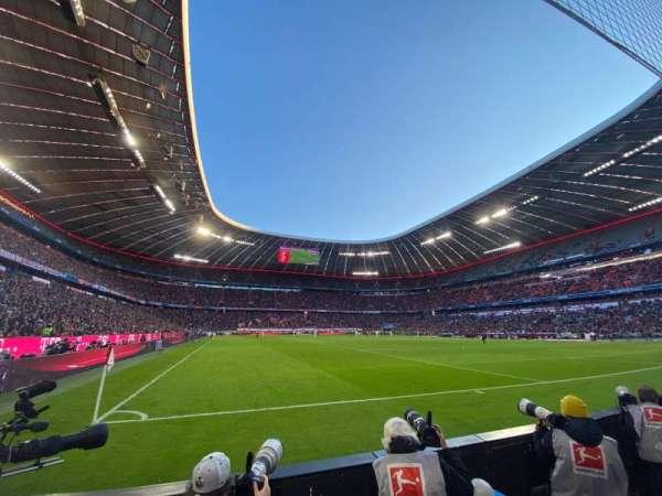 Allianz Arena, secção: 129, fila: 2, lugar: 11