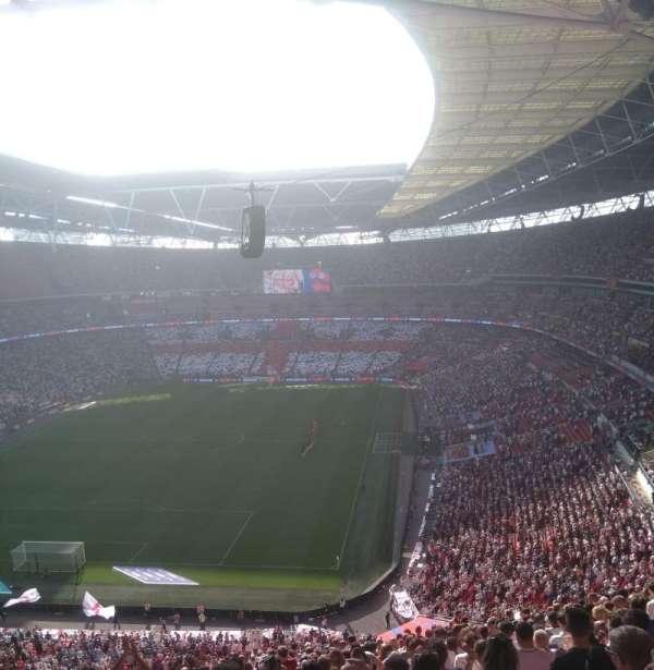 Wembley Stadium, secção: 511, fila: 22, lugar: 307