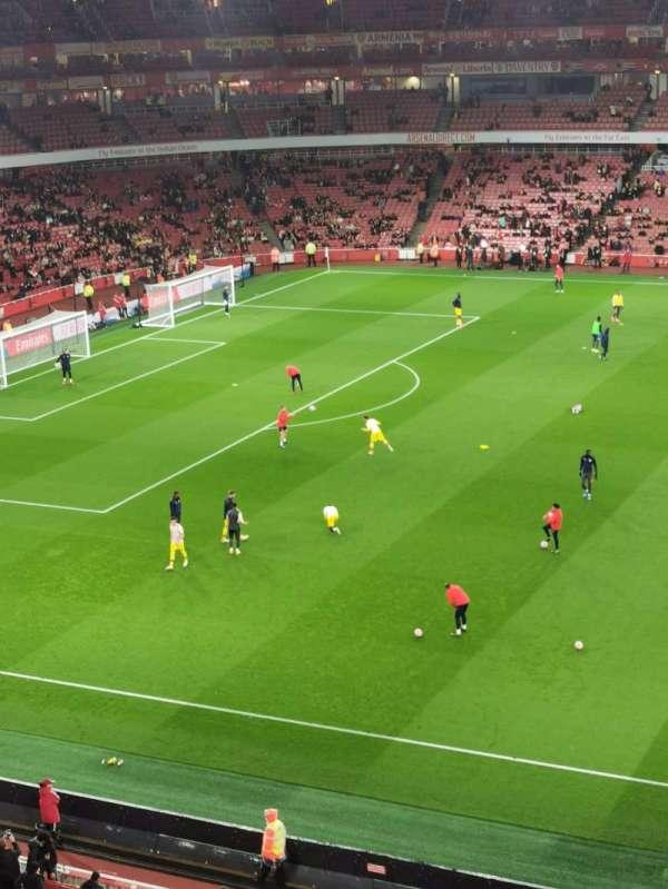 Emirates Stadium, secção: 113, fila: 5, lugar: 614