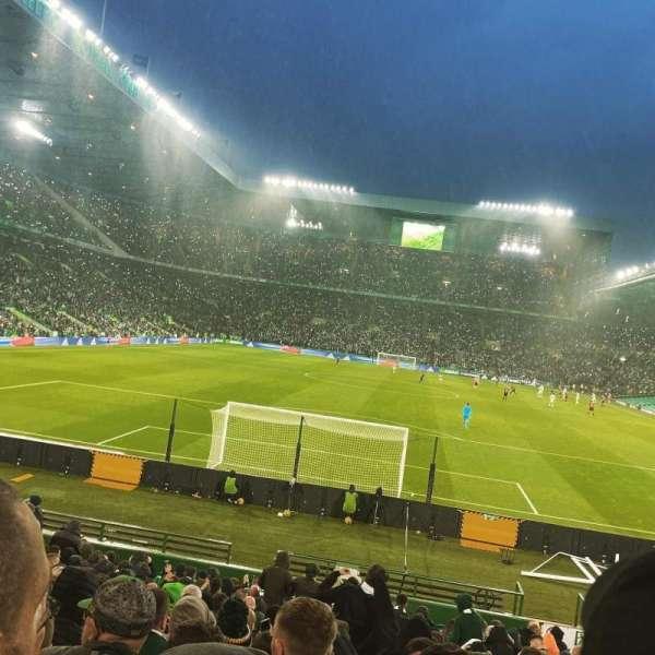 Celtic Park, secção: 139, fila: T, lugar: 24