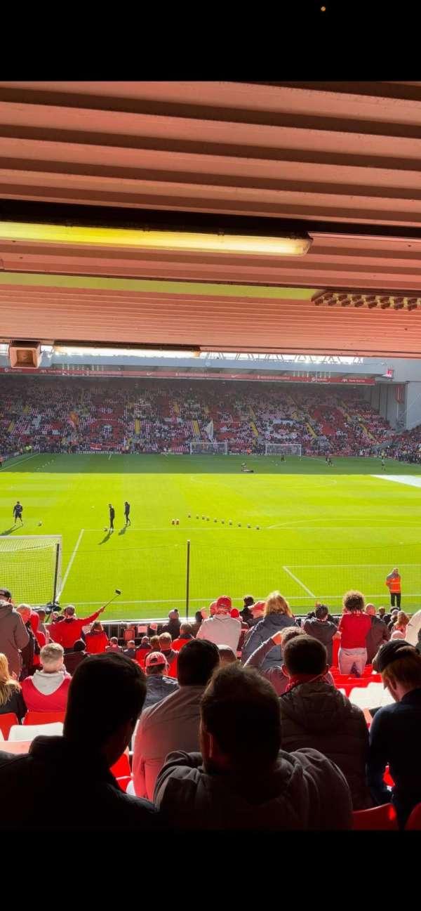 Anfield, secção: 127, fila: 19, lugar: 188