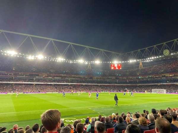 Emirates Stadium, secção: 2, fila: 10, lugar: 49