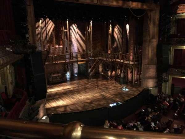 CIBC Theatre, secção: Mezzanine L, fila: A, lugar: 4