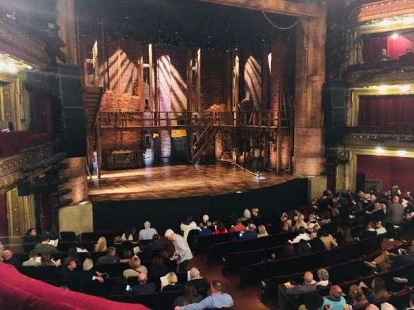 CIBC Theatre, secção: Dress Circle L, fila: A, lugar: 1