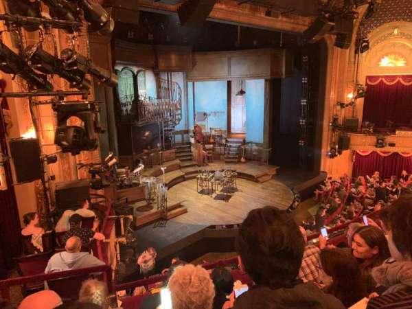 Walter Kerr Theatre, secção: Mezzanine L, fila: D, lugar: 25