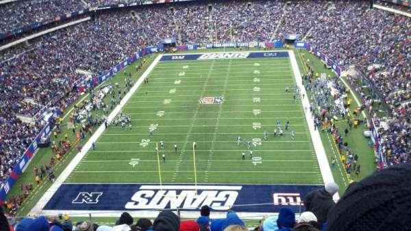 MetLife Stadium, secção: 325, fila: 14, lugar: 11