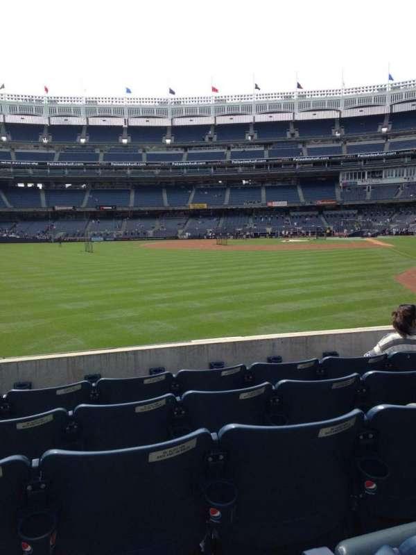 Yankee Stadium, secção: 133, fila: 15, lugar: 11