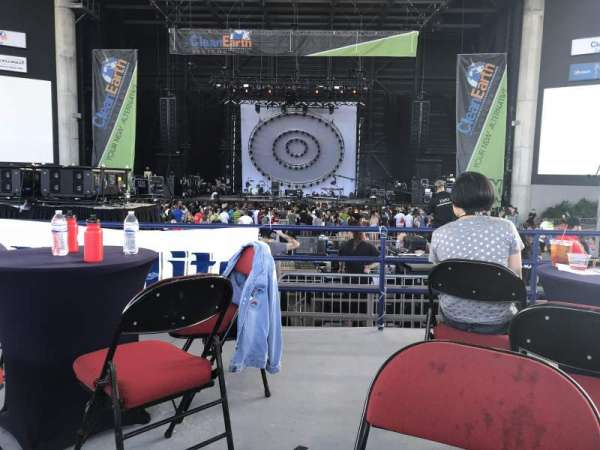 MidFlorida Credit Union Amphitheatre, secção: VIP, fila: Table 5, lugar: 1