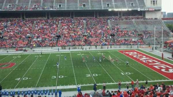 Ohio Stadium, secção: Club 5, fila: 28, lugar: 9