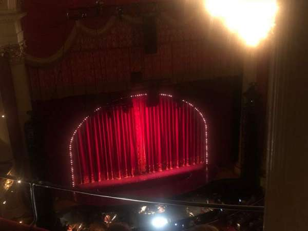 Academy of Music, secção: Amphitheater F, fila: D, lugar: 7