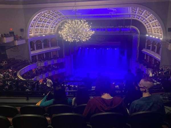The Met Philadelphia, secção: Mezzanine 2, fila: E, lugar: 7