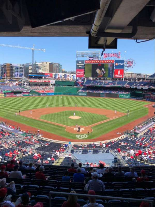Nationals Park, secção: Lincoln Suite 19, fila: SUITE, lugar: 2