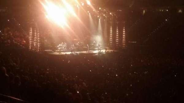 PNC Arena, secção: 130, fila: Z, lugar: 5