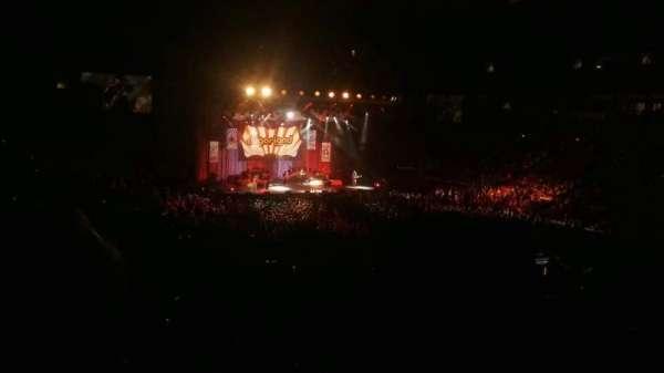 PNC Arena, secção: 130, fila: WW, lugar: 1