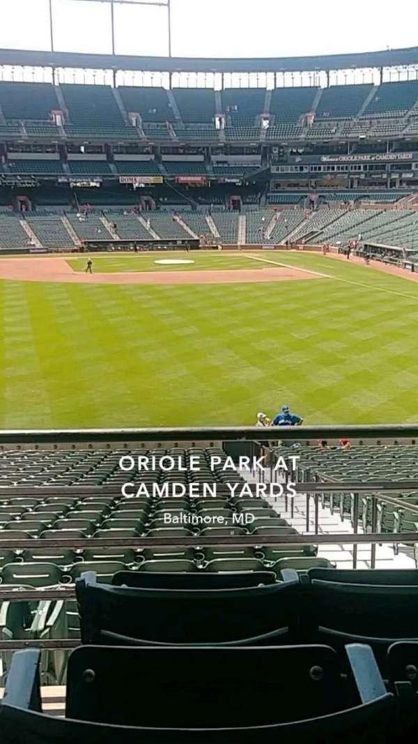 Oriole Park at Camden Yards, secção: 83, fila: 4, lugar: 15