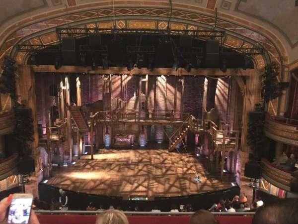 Richard Rodgers Theatre, secção: Front Mezzanine C, fila: D, lugar: 106