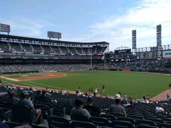 Guaranteed Rate Field, secção: 110, fila: 34, lugar: 22