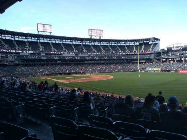 Guaranteed Rate Field, secção: 111, fila: 35, lugar: 7