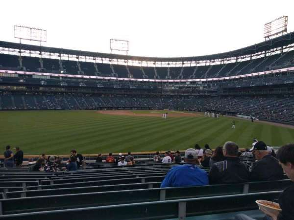 Guaranteed Rate Field, secção: 161, fila: 20, lugar: 12