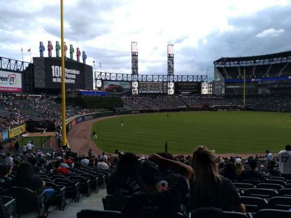 Guaranteed Rate Field, secção: 152, fila: 34, lugar: 8