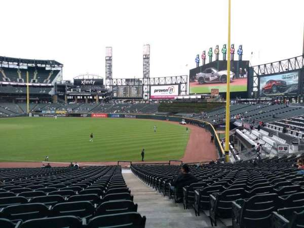 Guaranteed Rate Field, secção: 112, fila: 35, lugar: 1