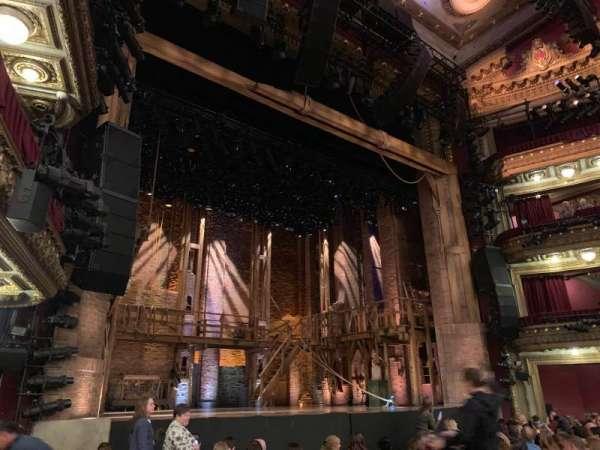 CIBC Theatre, secção: Orchestra L, fila: L, lugar: 15