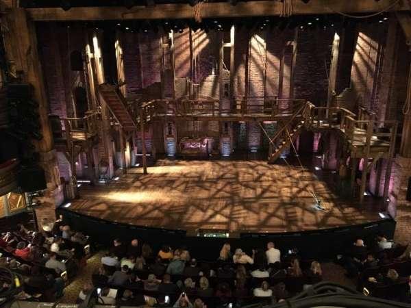 Richard Rodgers Theatre, secção: Front Mezzanine C, fila: A, lugar: 106