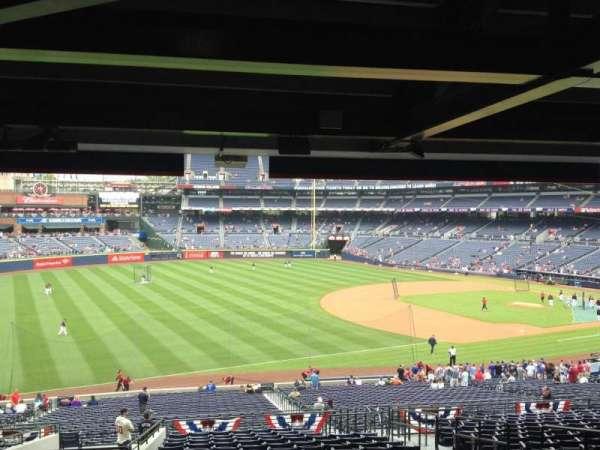 Turner Field, secção: 222, fila: 17, lugar: 104