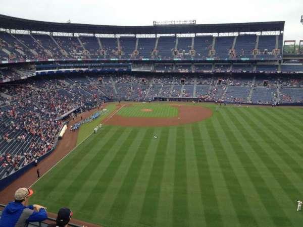 Turner Field, secção: 437, fila: 4, lugar: 1