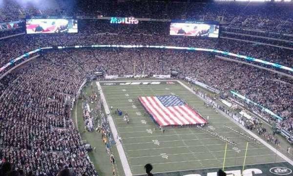 MetLife Stadium, secção: 329, fila: 18, lugar: 12 -13