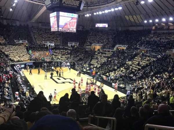 Mackey Arena, secção: 106, fila: 16