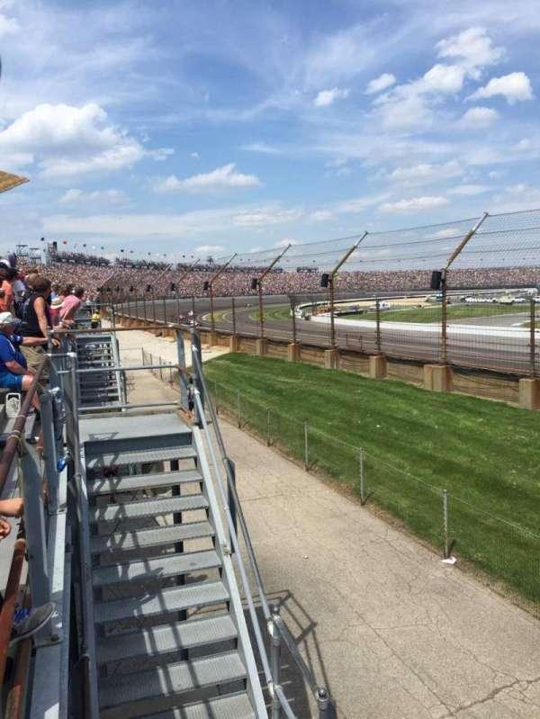 Indianapolis Motor Speedway, secção: H, fila: 1